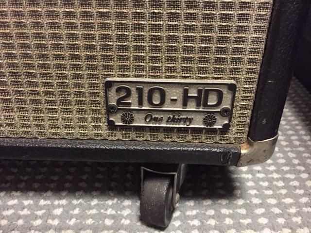 ライブやレコーディングに使用したギターアンプ達