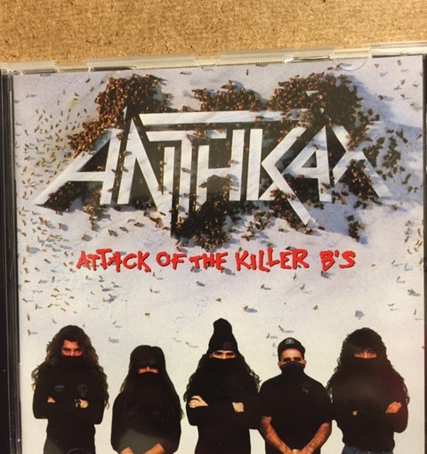 ANTHRAXのATTACK OF THE KILLER B'Sをまた買ってしまった。